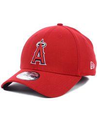 ad621795 KTZ Los Angeles Angels Of Anaheim Mlb White Diamond Era 9fifty Snapback Cap  in White for Men - Lyst