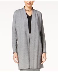 Alfani - Shawl-collar Sweater Coat - Lyst