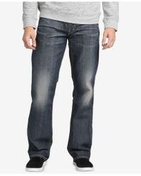 Silver Jeans Co. - Gordie Loose-fit Straight Jeans - Lyst