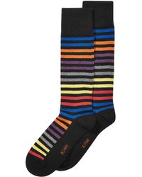 Alfani - Striped Dress Socks, Created For Macy's - Lyst