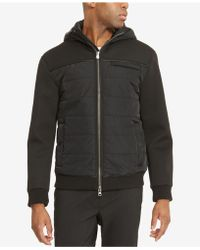 Kenneth Cole Reaction - Men's Hooded Puffer Jacket - Lyst