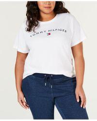 c544b3e17e2 Tommy Hilfiger - Sport Plus Size Logo Graphic T-shirt