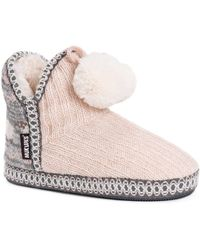 Muk Luks - Amira Boot Slippers - Lyst
