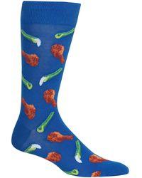 Hot Sox - Chicken Wings & Celery Crew Socks - Lyst
