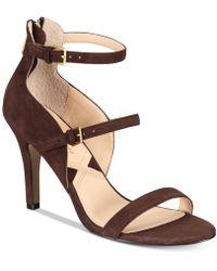 Adrienne Vittadini - Georgino Dress Sandals - Lyst