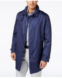 Tommy Hilfiger - Men's Fletch Solid Rain Coat - Lyst