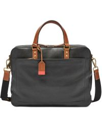 Fossil - Double-zip Workbag - Lyst