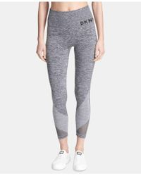 e75bcbf47fdeaa DKNY - Sport High-waist Seamless Ankle Leggings, Created For Macy's - Lyst