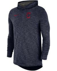 b7f6c2cd917 Lyst - Nike Men s Cleveland Browns Half-zip Dri-fit Jacket in Brown ...