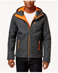 Superdry - Men's Windtrekker Soft-shell Hooded Coat - Lyst