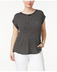 Celebrity Pink - Trendy Plus Size High-low T-shirt - Lyst