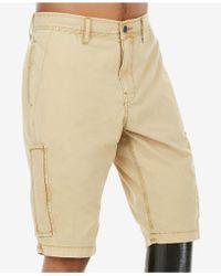 True Religion - Mojave Brown Cargo Shorts - Lyst