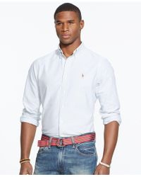 Polo Ralph Lauren | Multi-striped Oxford Shirt | Lyst