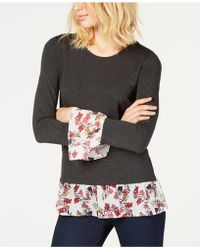 Vince Camuto - Layered-look Top - Lyst