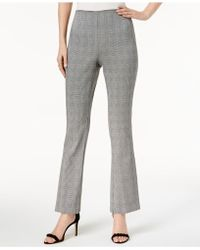 INC International Concepts - I.n.c. Petite Plaid Skinny Pants, Created For Macy's - Lyst