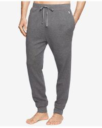 Polo Ralph Lauren - Men's Waffle-knit Jogger Pajama Pants - Lyst