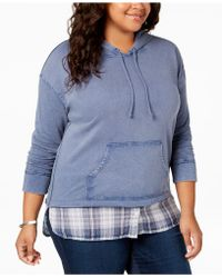 Style & Co. - Plus Size Layered-look Hoodie, Created For Macy's - Lyst