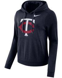 on sale 2f8ba a19e3 Lyst - Nike Women's Minnesota Twins Gym Vintage Full-zip ...