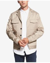DKNY - Classic-fit Stretch Notched-lapel Jacket - Lyst