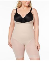 Miraclesuit - Extra Firm Open Bust Thigh Slimming Body Shaper 2781 - Lyst