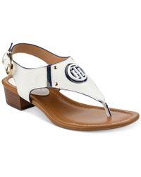 Tommy Hilfiger - Kissi Block-heel Sandals - Lyst