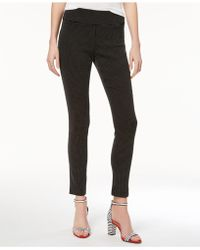 INC International Concepts - Jacquard Dot Slim Pants - Lyst