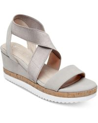 Steven by Steve Madden - Saria Crisscross Wedge Sandals - Lyst