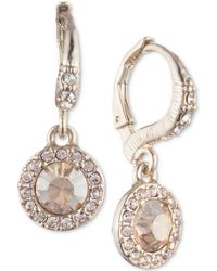 Givenchy - Crystal Cluster Drop Earrings - Lyst