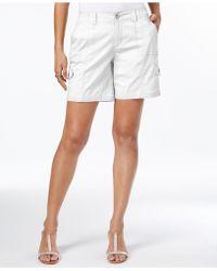 Style & Co. Comfort-waist Cargo Shorts