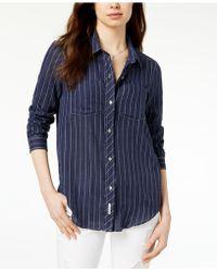 Calvin Klein Jeans - Striped Shirt - Lyst