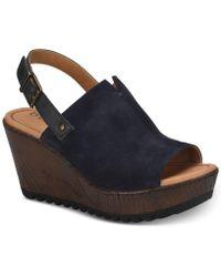b.ø.c. - Noelle Wedge Sandals - Lyst