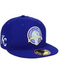 best website 5f63f 1f89e KTZ Ultimate Patch Collection World Series 2.0 59fifty Fitted Cap in White  for Men - Lyst