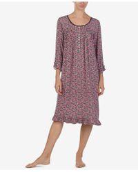 Eileen West - Print Waltz Nightgown - Lyst