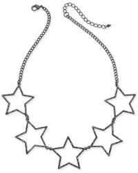 INC International Concepts - Five-star Statement Necklace - Lyst