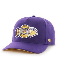 check out 9018e 35138 Nike Los Angeles Lakers City Edition Classic99 Nba Hat (black) - Clearance  Sale in Black for Men - Lyst