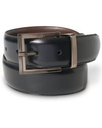 Alfani - Reversible Calf Leather Belt - Lyst