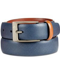 Original Penguin - Men's Sun Tanned Leather Belt - Lyst