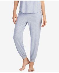DKNY - Contrast-print Jogger Pajama Pants - Lyst