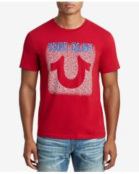 True Religion - Neon Sign T-shirt - Lyst
