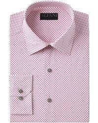 1007a283e Alfani - Slim-fit Performance Stretch Easy-care Dress Shirt, Created For  Macy's