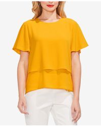 Vince Camuto - Tiered Top - Lyst