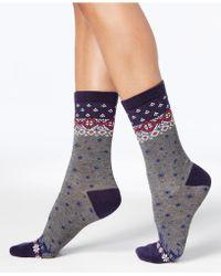 Charter Club - Women's Winter Wonderland Socks - Lyst
