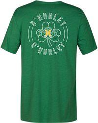 Hurley - Irisher Graphic T-shirt - Lyst