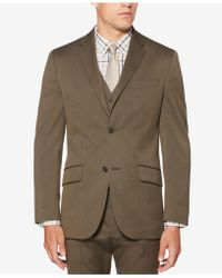 Perry Ellis - Textured Suit Jacket - Lyst