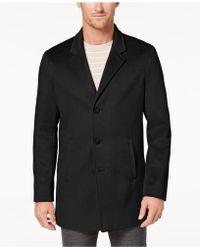 Calvin Klein - Slim-fit Overcoat - Lyst