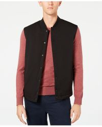 Kenneth Cole - Snap-front Vest - Lyst