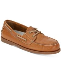 G.H.BASS - 2-eye Asbury Boat Shoes, Created For Macy's - Lyst