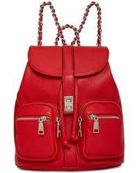 Steve Madden - Ally Small Pebbled Backpack - Lyst