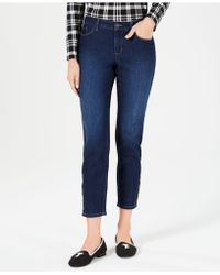 Charter Club - Tummy-control Ankle-length Skinny Jeans, Created For Macy's - Lyst