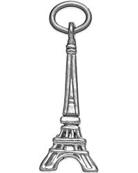 Rembrandt Charms - Sterling Silver Eiffel Tower Charm - Lyst
